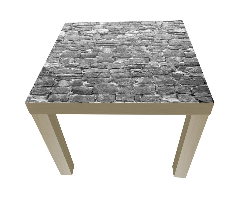 beistelltisch natursteinmaur grau designtisch m0034 ebay. Black Bedroom Furniture Sets. Home Design Ideas