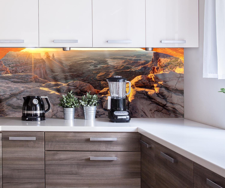 Küchenrückwand Mesa Arch USA Nischenrückwand Spritzschutz Design M0275