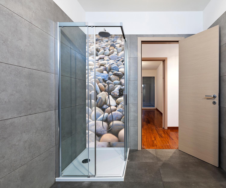 Duschrückwand Steinhaufen Deko Design Design Design M0711 17729f