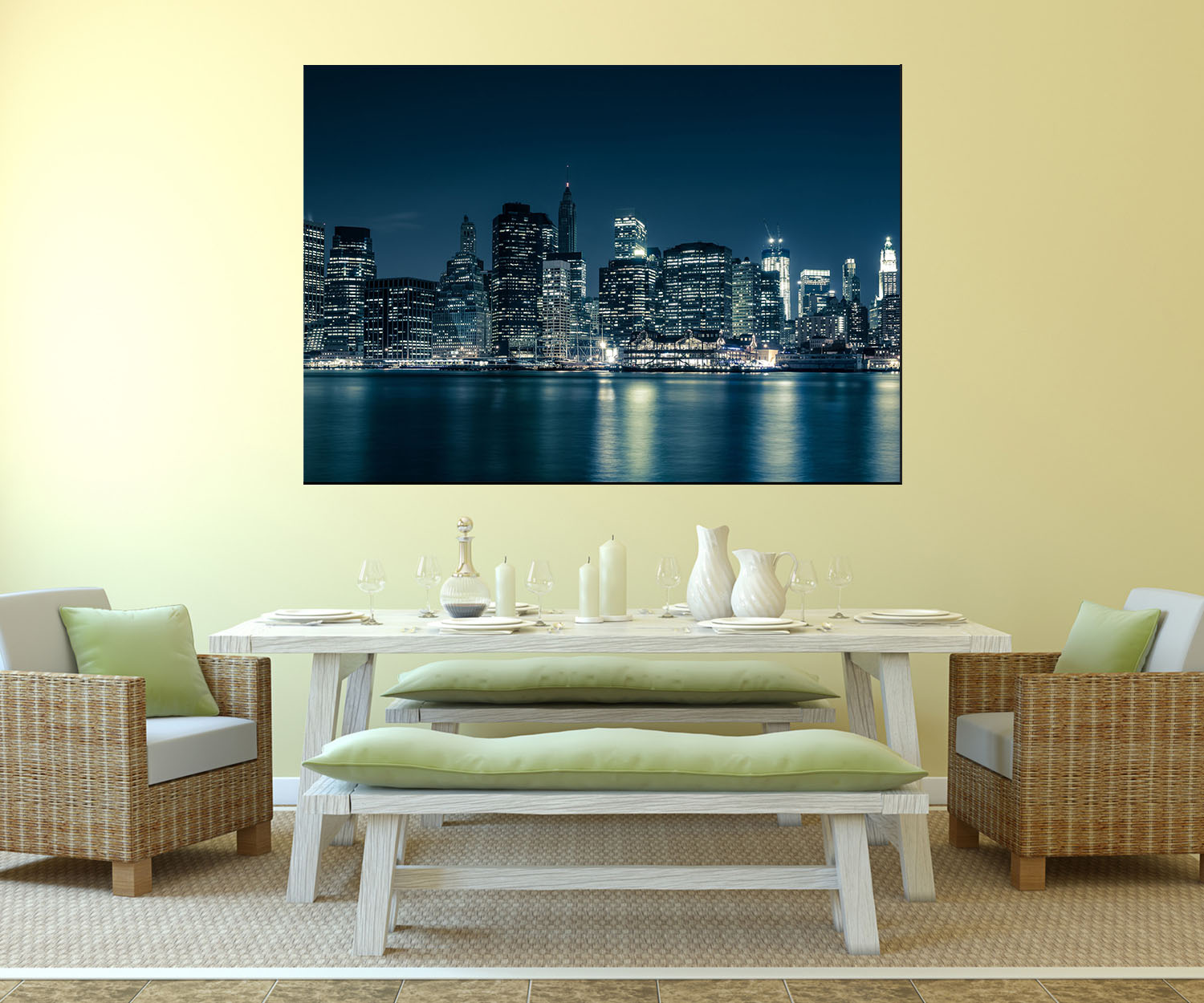 Wandbild glasbild new york city wandmotiv wb0282 ebay - Wandbild new york ...