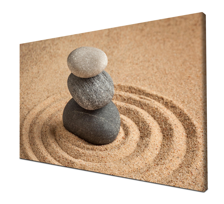 Leinwandbild Einfachheit und Balance-Konzept Panoramabild Kunstdrucke M0966